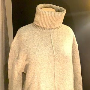 Super cozy turtleneck sweater.